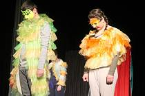 Hra Prospero v podání domácího souboru Bedřych při Setkání ve Strašecí
