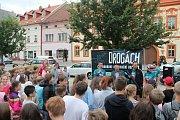 Cykloběh za Českou republiky bez drog se zastavil v Rakovníku.