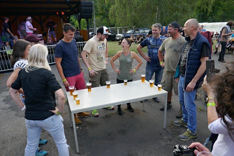 Z Roztockých pivních slavností.