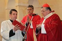 Svěcení kaple sv. Vojtěcha v Kounově