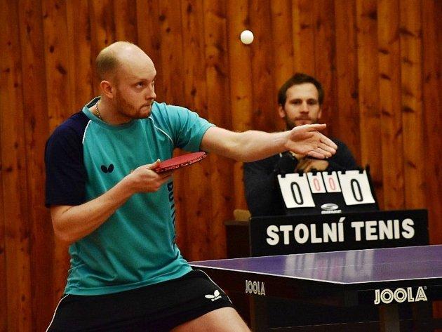 Šanovský stolní tenista Miroslav Štěpka.