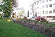 Rekonstrukce parku Na Sekyře