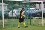 Z fotbalového utkání I.B třídy Lubná - Hostouň B (0:6)