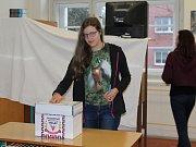 Prezidenta volili i žáci Střední zemědělské školy v Rakovníku. Vítězem studentů se stal Jiří Drahoš.