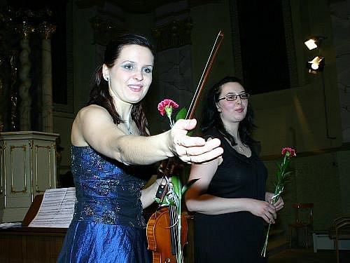Koncert Moniky Růžkové v Rabasově galerii