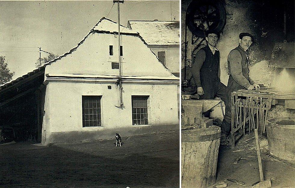 Šanov, stará kovárna.