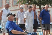Veřejná šachová partie v Rakovníku