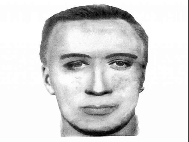 Identikit muže podezřelého z napadení