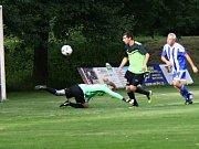 Kněževes vyhrála v Pustovětech 4:0 a míří za obhajobou okresního poháru.