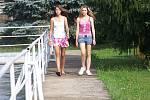 Letní koupání v Srbči