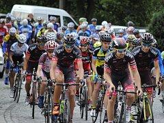 Cyklistický závod Křivoklátské peklo 2014