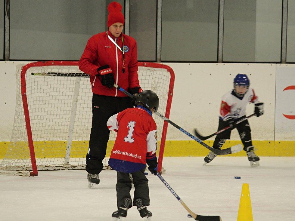 Z Týdne hokeje na rakovnickém zimním stadionu.