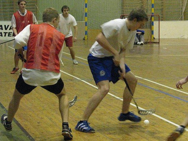Florbalový turnaj v hale