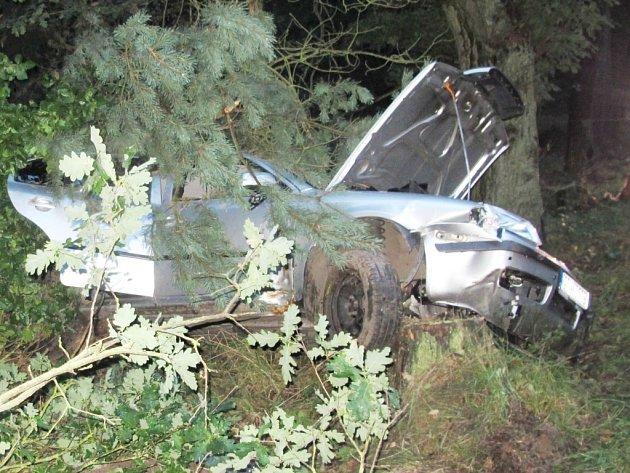 Fotografie z místa nehody