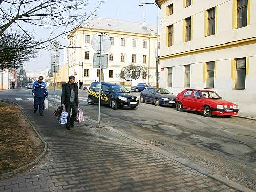 Palackého ulice v Rakovníku