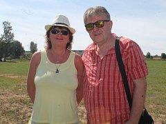 Jiří Macourek s manželkou