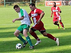 Fotbalisté Hředel zdolali Senomaty 4:1. Hattrick vsítil Vitner.