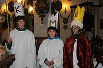 Tři králové v Křivoklátě