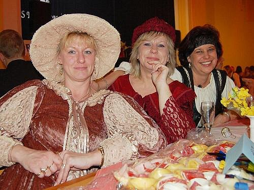 Desátý historický bál v Kněževsi