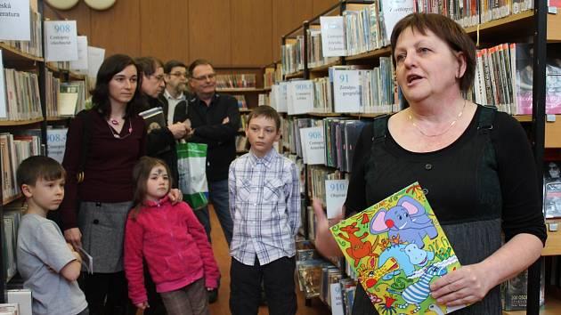 Čtenář roku 2012 v rakovnické knihovně