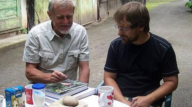 Václav Laňka a Václav Sekerka