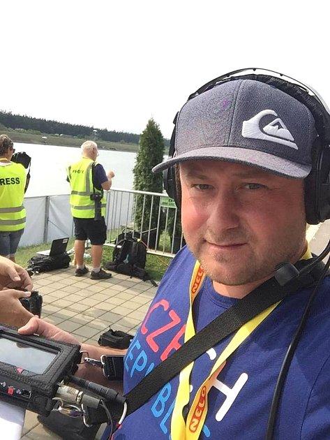 Reportér ČR Radiožurnál František Kuna.