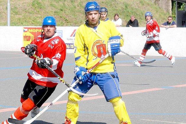 Hokejbalový turnaj v Novém Strašecí