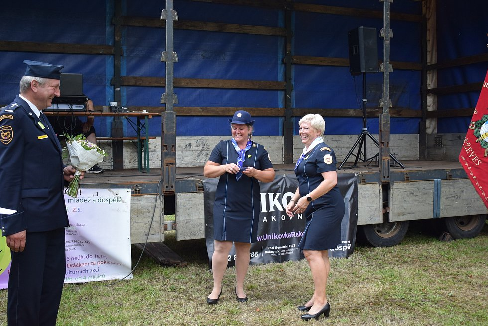 Oslavy výročí 170 let od zakoupení hasičské stříkačky a 140 let od založení Sboru dobrovolných hasičů Kněževes.