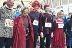 Čertů i z RZakovnicka se sešlo na startu běhu v Unhošti nepočítaně