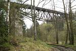 Unikátní most u Strachovic na Rakovnicku