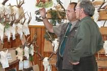 Výstava trofejí v ZZN Rakovník