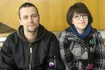 Tereza Rambousková s kamarádem Jakubem Tupým