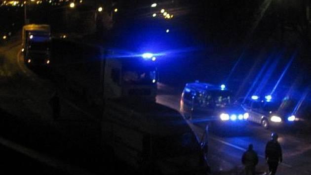 Havárie na Pražské ulici