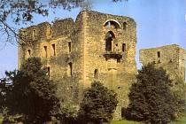 Zřícenina hradu Krakovec.