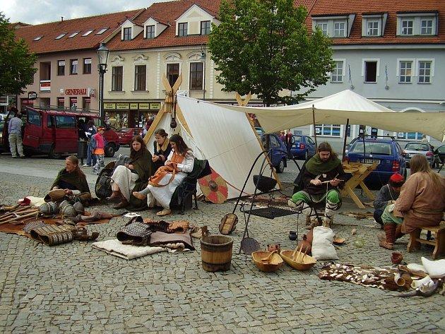 Berounské hradby 2008 - dvoudenní multikulturní festival se opět vydařil a navštívilo jej mnoho dětí i dospělých