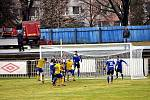 Z divizního fotbalového utkání SK Rakovník - Soběslav (1:4)