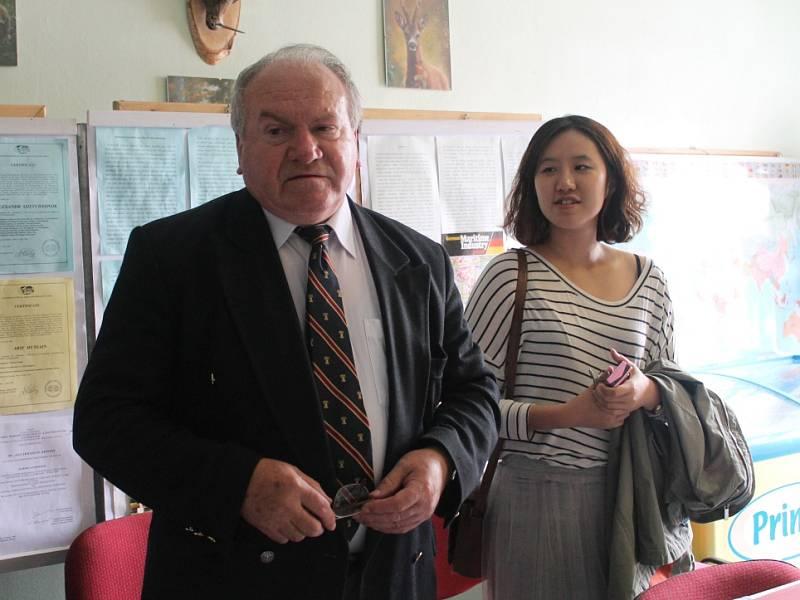 Vratislav Kubišta s Kim Soo Ryeon.