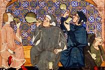 Středověké pijanství.