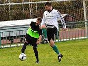 Fotbalisté Olympie Rakovník padli doma s Kněževsí 2:3.