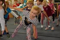 Taneční dopoledne v Mateřské škole Klicperova v Rakovníku.