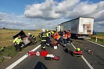 Nehoda u Hořesedel.