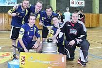 Florbalový turnaj Aquatop cup 2017 ovládla Malinová.
