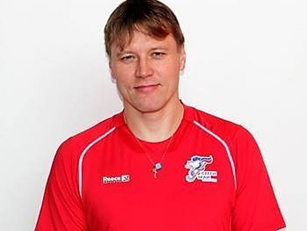 Pavel Hraba, hrající trenér rakovnických pozemních hokejistů.