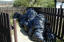 Sem bohužel dávají lidé i velkoobjemový odpad