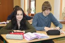 Studenti 2. A Gymnázia J. A. Komenského v Novém Strašecí