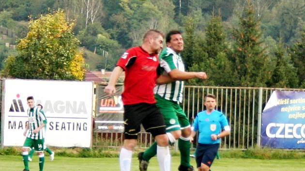 Sparta Lužná prohrála i v 5. kole nejnižší krajské fotbalové soutěže. S béčkem Hostouně padla 1:2.