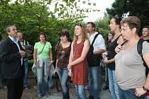 Setkání botaniků na botanické zahradě v Rakovníku