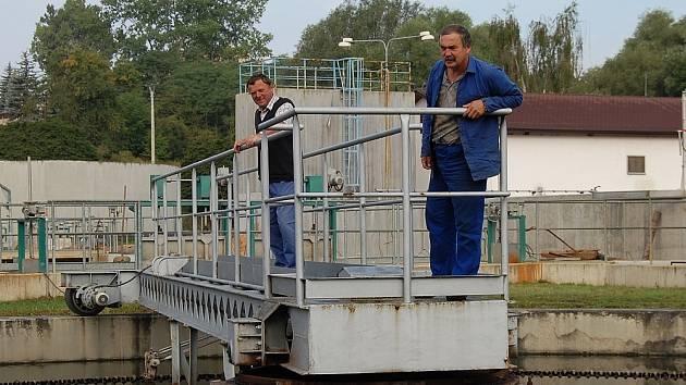 Čistírnu odpadních vod v Rakovníku čekají v budoucnu další rekonstrukce.