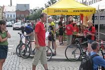 Zahájení cyklování a příprava na noční orientační závod