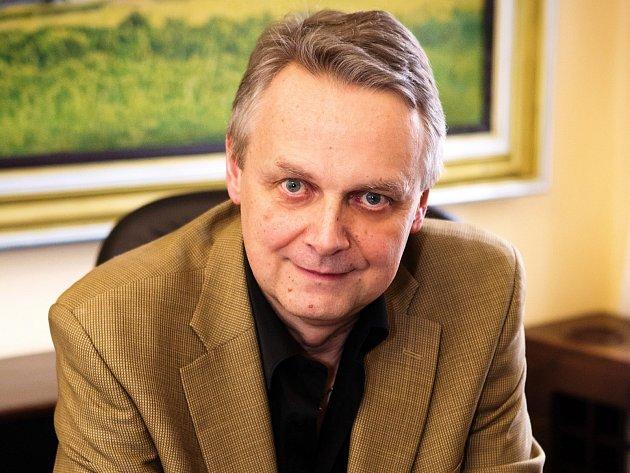 Starosta Rakovníka Pavel Jenšovský (ČSSD)